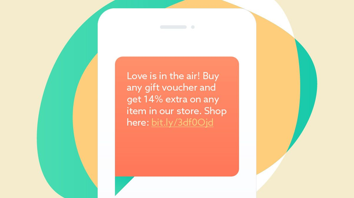 Valentine's day SMS template #5